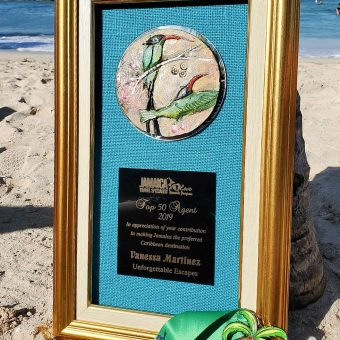 Jamaica Travel Industry Specialist award..